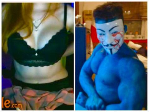 Hot mirin Girl tits on Omegle aesthetic body fitness ass and the travel to Avatar Sickunt