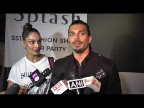 Bipasha Basu And Karan Singh Grover Interview At Lakme Fashion Week