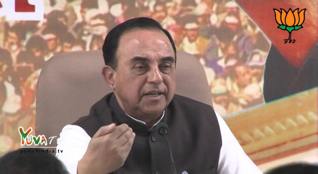 Aam Aadmi Party is in unholy agreement with Congress Party : Dr. Subramanian Swamy