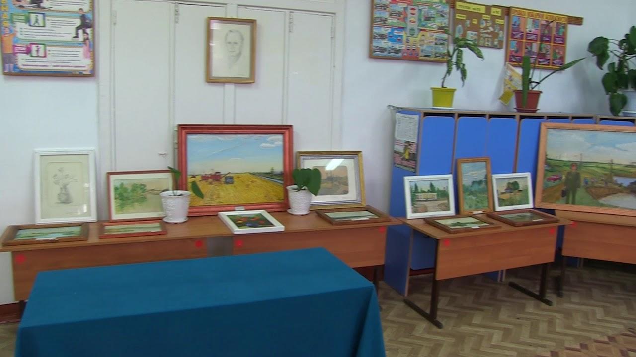 Выставка картин художника Бондаренко в селе Кислово