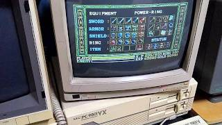 NEC PC-9801 Wanderers from Ys part5 / ワンダラーズフロムイース
