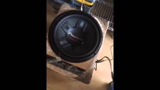 woofer doble bobina pioneer ts w311d4