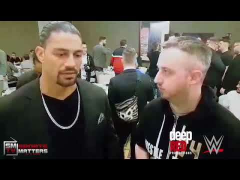 Roman Reigns Pre WrestleMania 34 interview with Jerry Coughlan