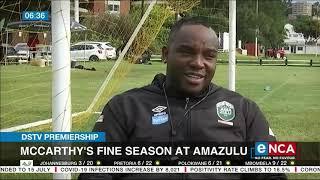 McCarthy's fine season at AmaZulu