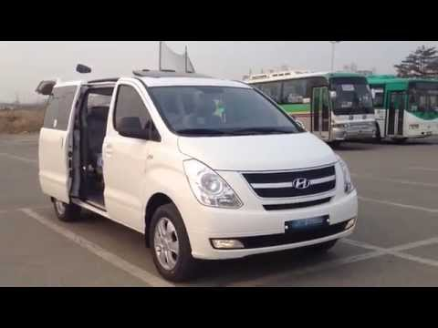 Hyundai Grand Starex H 1 4WD, LD мост, VDC, 12 мест, 2500сс дизель