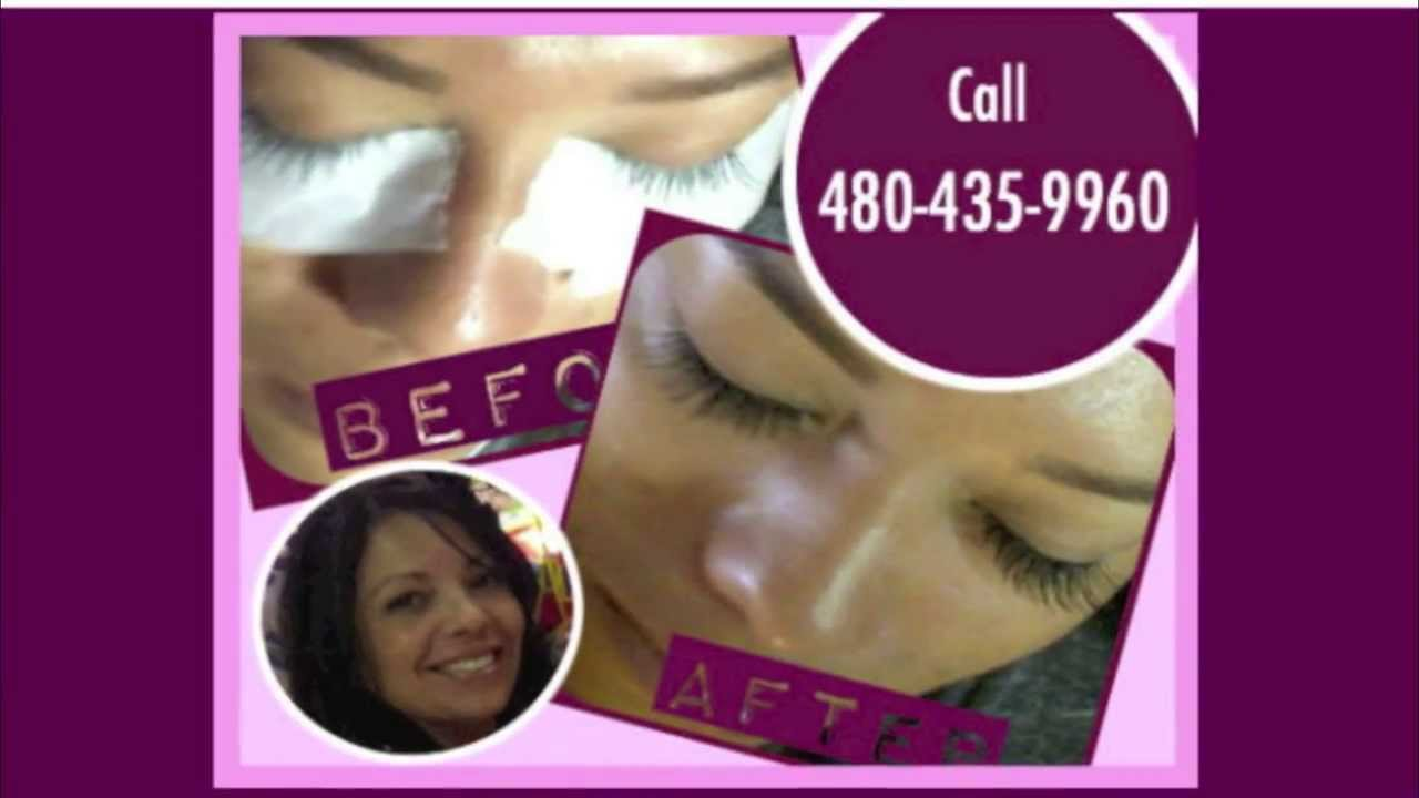 Eyelash Extensions Scottsdale Eyelash Extension Steps Youtube