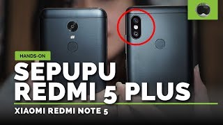 Unboxing & Hands-on Xiaomi Redmi Note 5 Indonesia