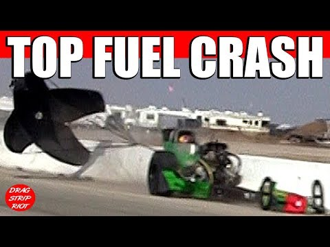 Nitro Top Fuel Front Engine Dragster Drag Racing Crash Denver Schutz Nostalgia Videos