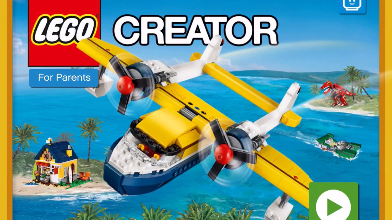 Lego Creator Island Ios Android Gameplay Building Island 1 2