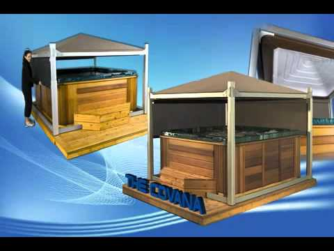 The Covana The Only Fully Automated Hot Tub Or Spa Cover