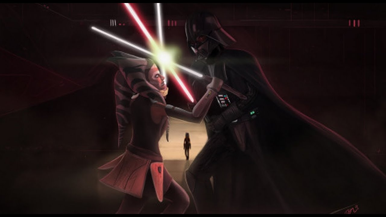 Ahsoka Tano vs Darth Vader Dublado PTBR HD 1080p