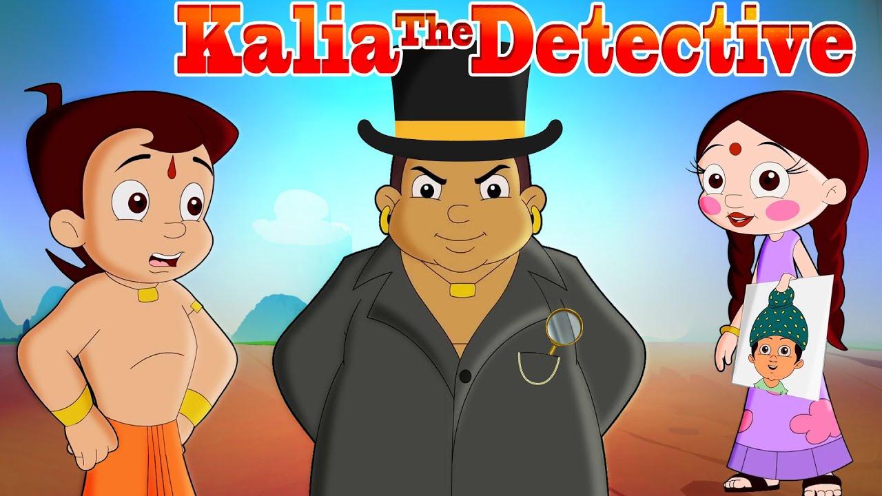 Chhota Bheem - Detective Kalia   धोलकापुर का जासूस   Cartoons for Kids in हिन्दी   Funny Kids Videos
