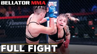 Full Fight | Bruna Ellen vs. Elina Kallionidou - Bellator 224