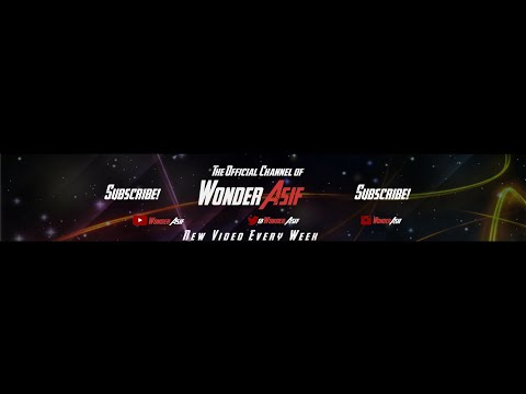 My New Youtube Channel Art 2.0 | Free to Download