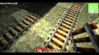 Let's build Minecraft #021 U-Bahn Fertig. Haus im Bau