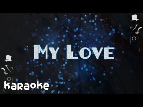 Lee Jong-hyun - My Love [karaoke]