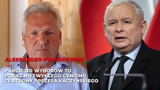 Aleksander Kwaśniewski o wyborach, Donaldzie Trumpie i ostatnich wydarzeniach politycznych