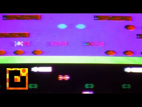 Frogger (for the Atari 2600) - Game Glitch