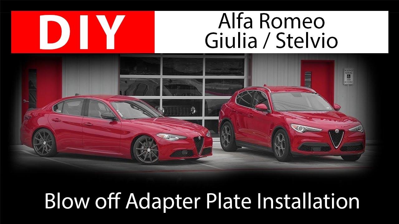 DIY: Installing Alfa Romeo Giulia / Stelvio Diverter Valve by Go Fast Bits