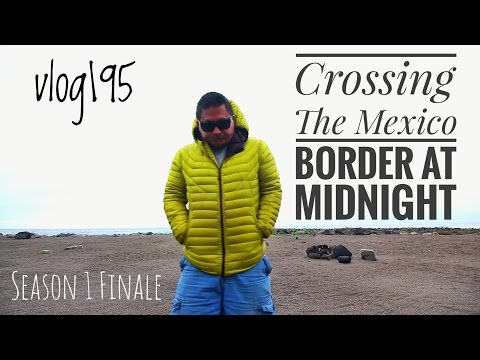 Midnight Mexican Border Crossing on Christmas Eve.