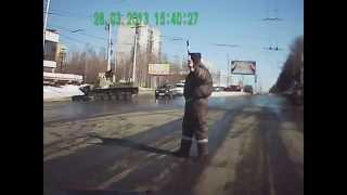 Военная техника на дорогах России Meanwhile in Russia Russian military tanks on the road