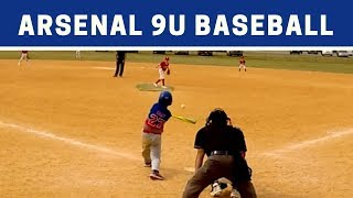⚾️ Arsenal vs Reds | 9U Baseball Highlights