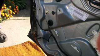 Seat Toledo Water leak door repair