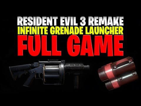Resident Evil 3 Remake: Infinite Ammo Grenade Launcher Flame Rounds (BIRTHDAY STREAM)
