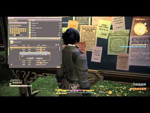 Final Fantasy XIV:  Stockpile For 3.0