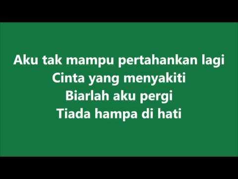 Shahir - Pendam (instrumental + lirik)