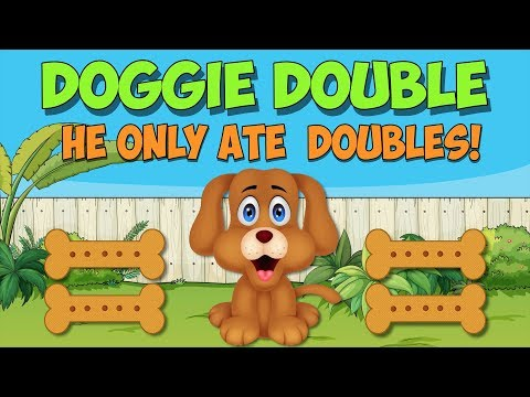 My Doggie Double- Adding Double Numbers 1-5