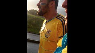 Видеообращение к Национальной сборной Украины от болельщиков.