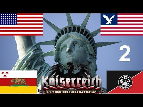 Hearts of Iron IV - Kaiserreich - The American Civil War - 2