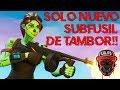 💀¡GANANDO SOLO Con SUB-FUSIL DE TAMBOR! 💀 ~ FORTNITE