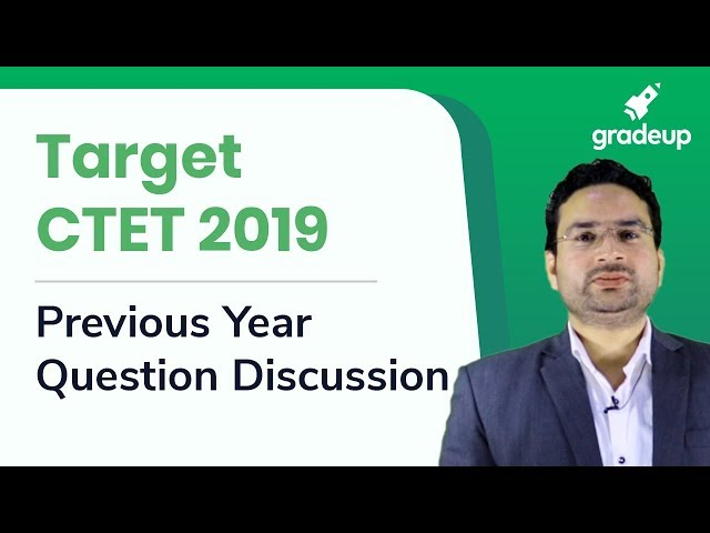 CTET 2019 | Previous Year Question Discussion | English By Amit Shishodia