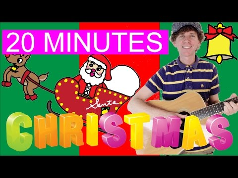 Christmas Songs and More | 20 Minutes | Jingle Bells, S-A-N-T-A