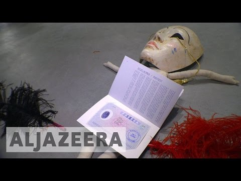 Venice Biennale: Refugee crisis takes centre stage