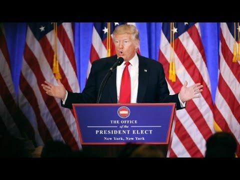 "Donald Trump shuts down CNN reporter: ""You're fake news"""