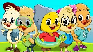CINCO PATITOS | Canciones infantiles