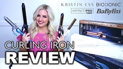 Bio Ionic vs. Kristin Ess vs. Babyliss vs. Con Air || Curling Iron Review || Jess Hallock