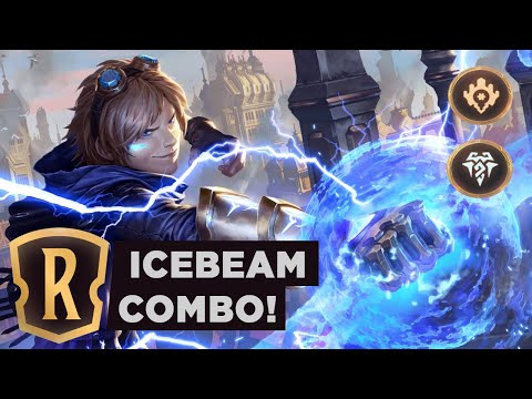 EZREAL Icebeam Combo | Legends Of Runeterra Ranked Deck
