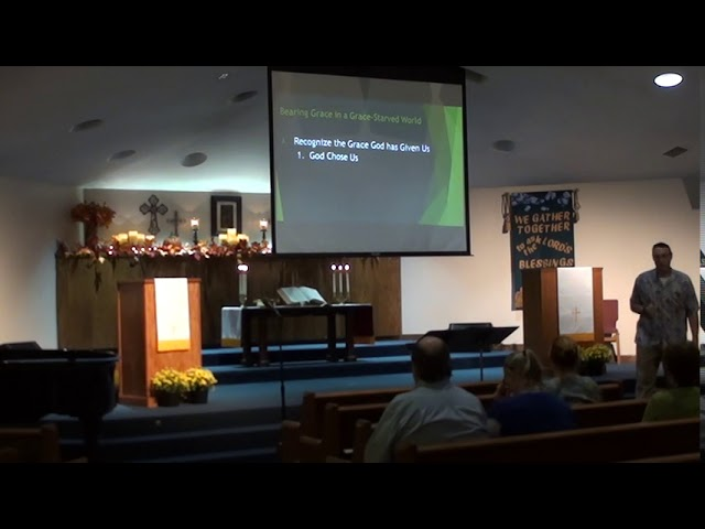 Organic Outreach - Learning Grace from a Grace Starved World - Part 1