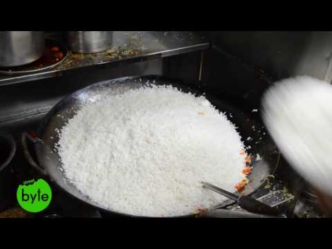 Chicken Fried Rice Preparation for 16 people || Famous Indian Street Food ||