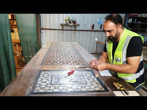 Sultanahmet Camii'nin Kapıları 400 Yıl Sonra Aynı Teknikle Yenileniyor