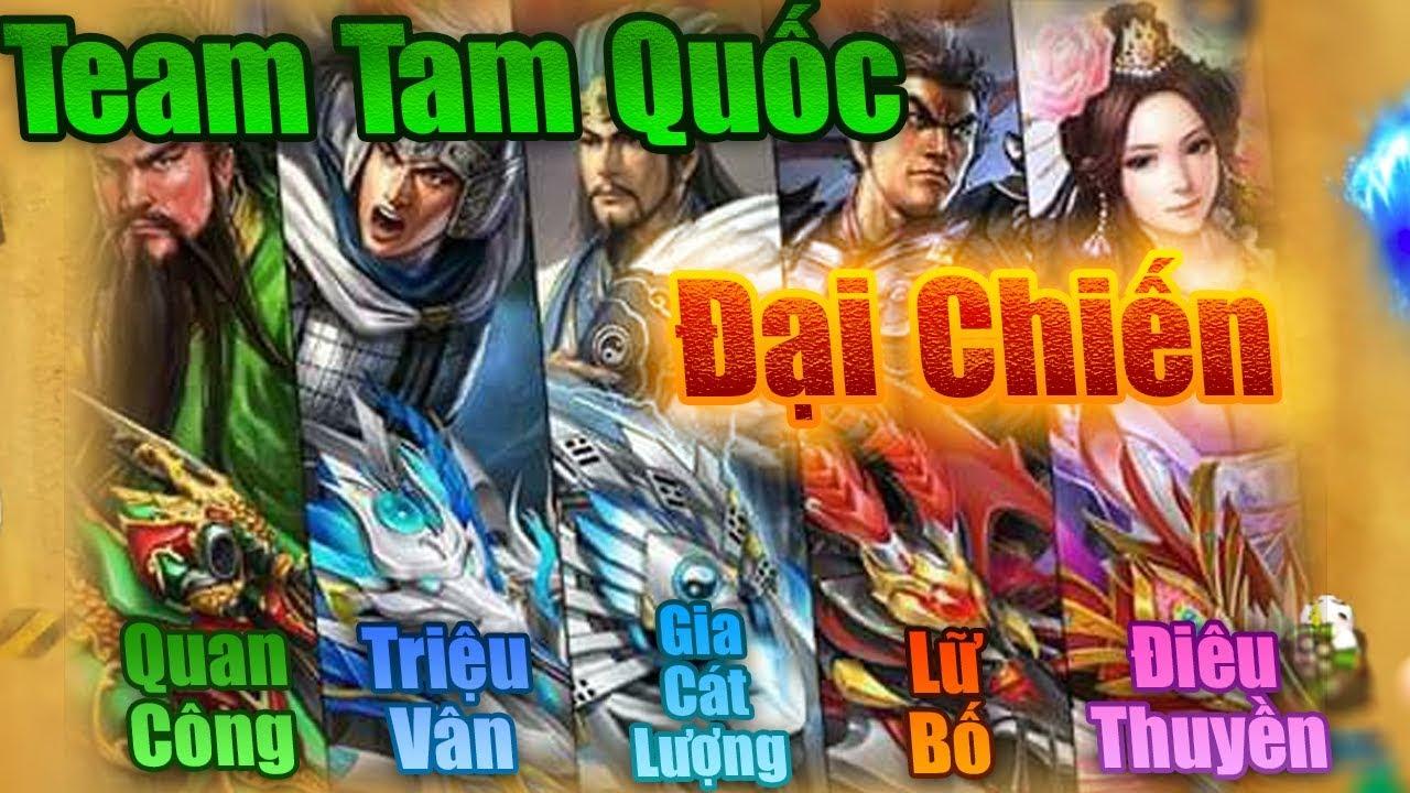 Bang Bang trên zing me – Team Tam Quốc Đại Chiến