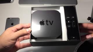 Unboxing Apple TV 4 En Español