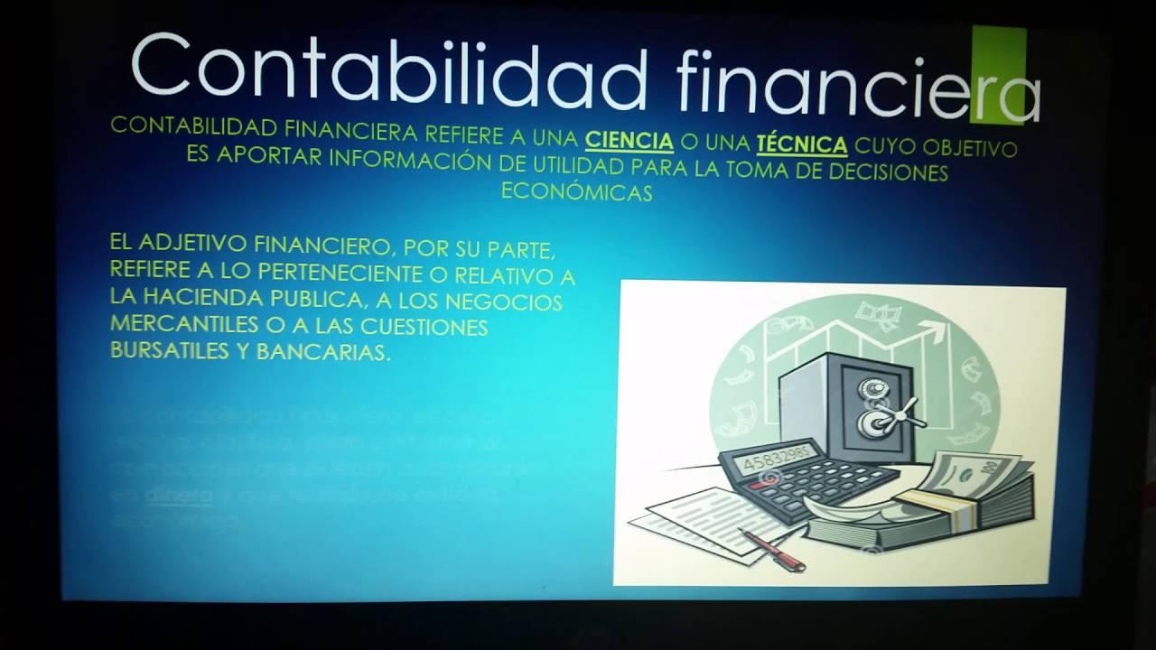 Contabilidad de Costos & Contabilidad Financiera - YouTube