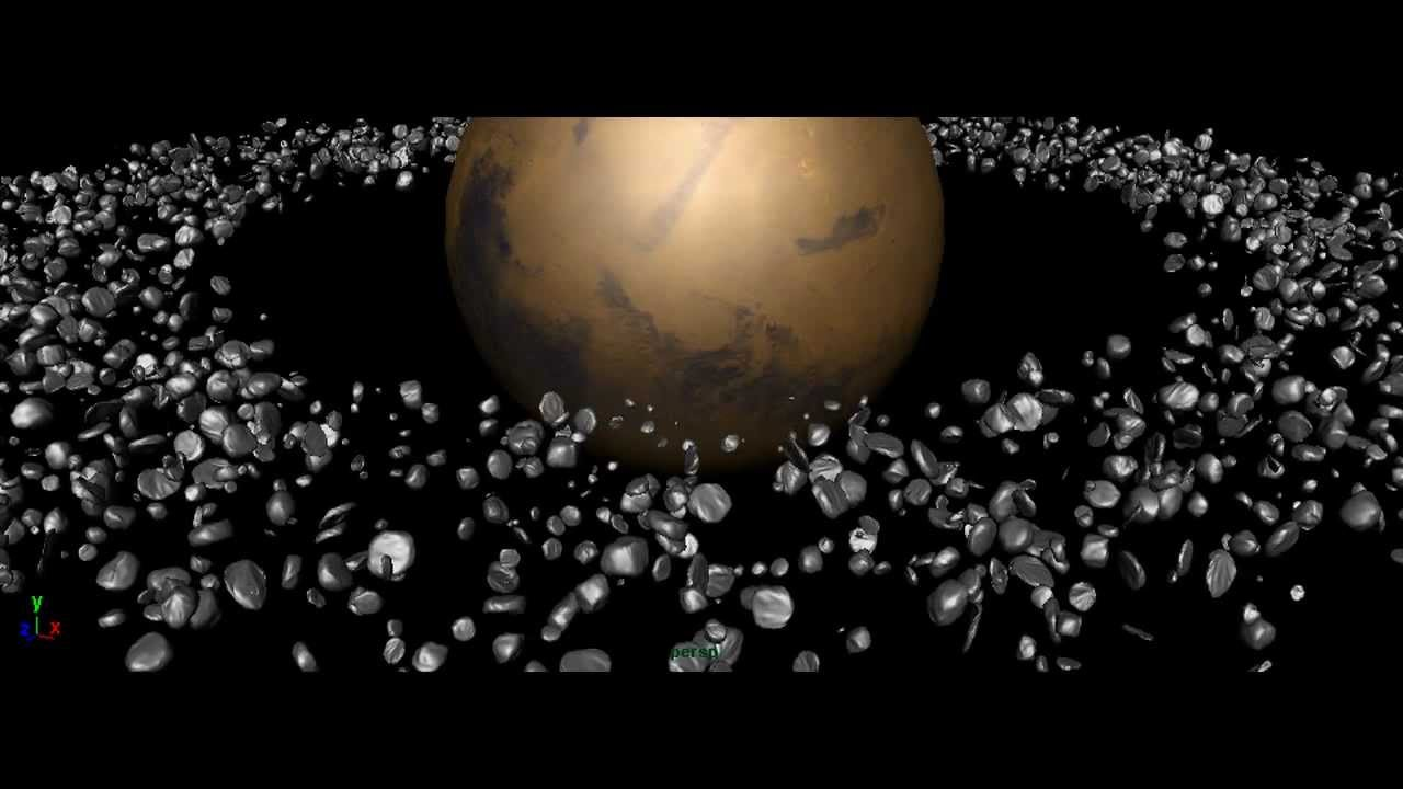 Asteroid Belt Example - YouTube