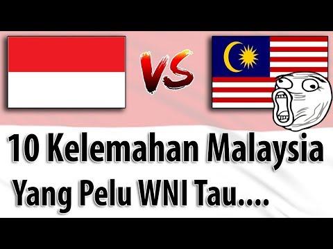 10 Kelemahan Malaysia, WNI Tonton...!!! (indon vs malay) Shame on you Malaysia