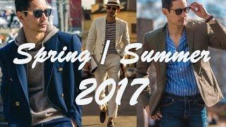 Men Style Spring / Summer 2017 • Men